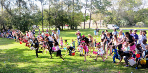 SAUMC Easter Egg Hunt 2018